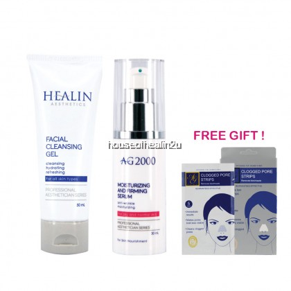 Healin Aesthetics Cleanser & Moisturizing Serum